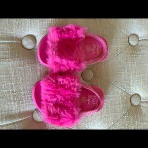 Other - Brand new toddler furry slides
